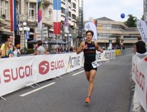 Ironman Wiesbaden - Zu Beginn der Laufstrecke