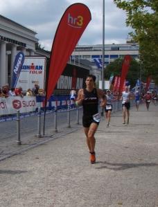 Ironman Wiesbaden - Abgekämpft kurz vor der Finishline