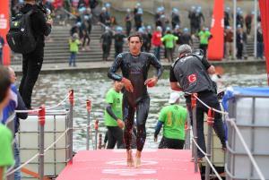 Schwimmausstieg Challenge Heilbronn
