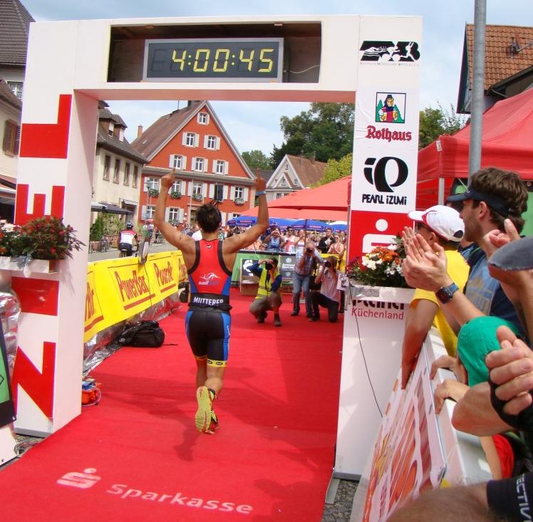 Erster Sieg auf der Mitteldistanz bei meiner Premiere im Breisgau!